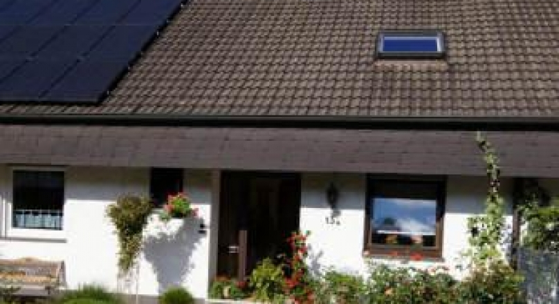 Schönes Einfamilienreihenhaus mit Garage in bevorzugter Wohnlage von Balve